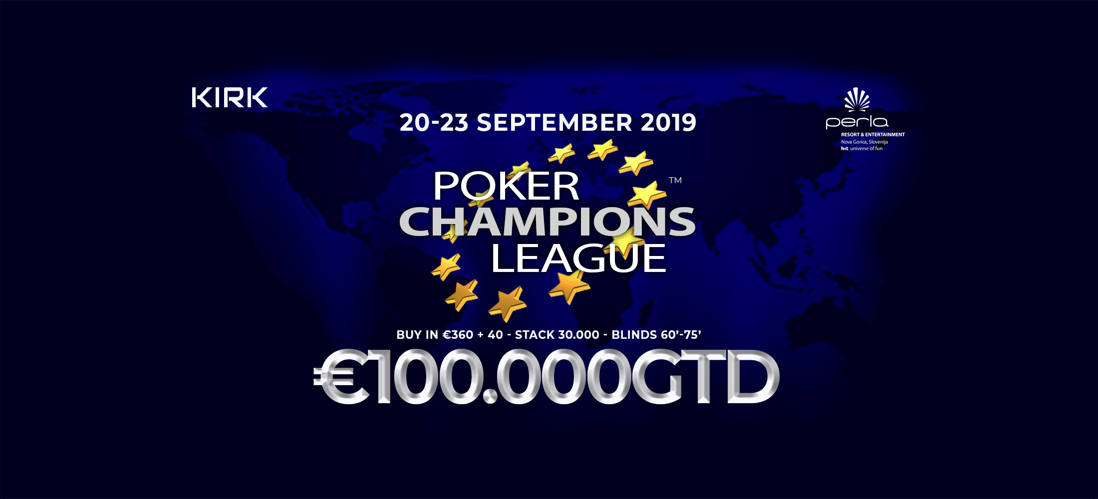 Poker Champions League 2019 – The poker tournament for strategy lovers