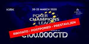 Poker Champions League 2020 – The poker tournament for strategy lovers